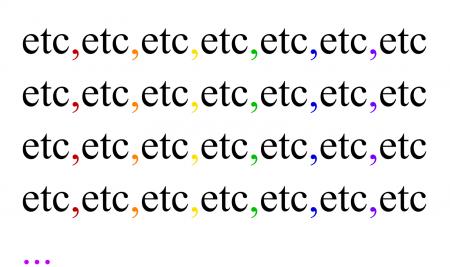 """Dica: A vírgula antes da palavra """"etc."""" – Professor: Lucas Ambrosio"""